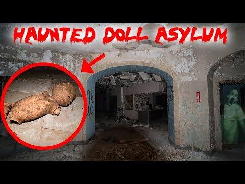 HAUNTED DOLL ASYLUM AT 3AM! CREEPY DOLLS EVERYWHERE | MOE SARGI