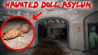HAUNTED MENTAL ASYLUM AT 3AM! CREEPY DOLLS EVERYWHERE | MOE SARGI