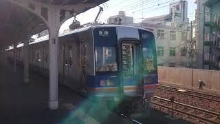 南海1000系1051F 萩ノ茶屋駅発車