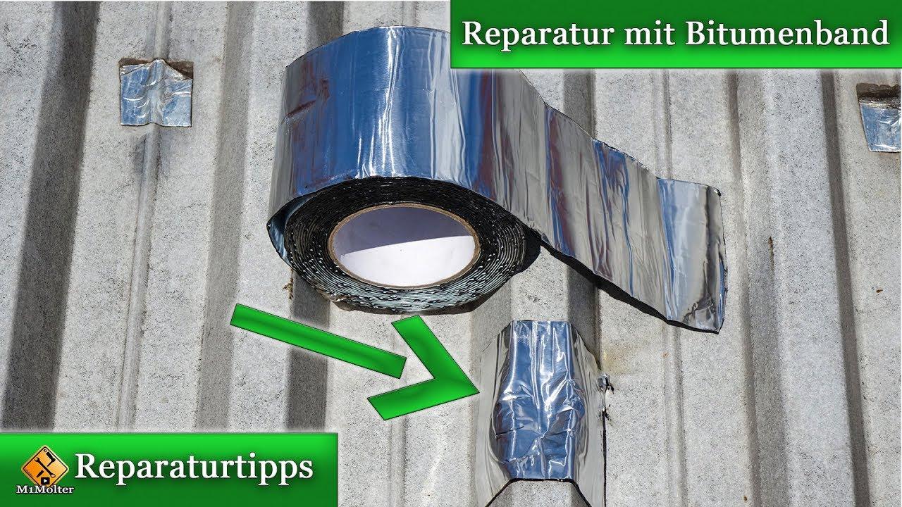 Hervorragend Aluminium Dach reparieren / Dachabdichtung - Reparatur mit UP42