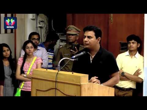 Must Watch...! IT Minister KTR Excellent English Speech In IIT Madras About Technology | TFC News