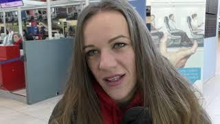 Simona Vrzalová před odletem na HMS do Birminghamu