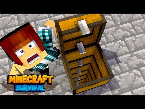 Minecraft Survival #36 - BAÚS INFINITOS !!