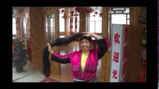 Guilin Longji rice terrace and Red Yao minority, Guanxi province, China