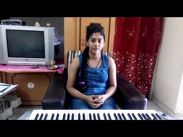 Manohari song on piano by mythili