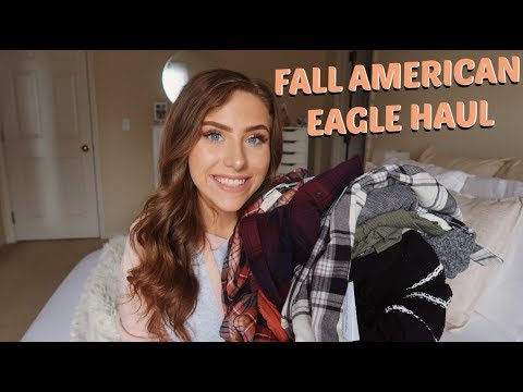 AMERICAN EAGLE FALL TRY ON HAUL | 2018