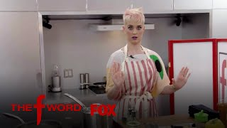 Gordon Ramsay Guides Katy Perry In Cooking But Only With His Voice | Season 1 Ep. 3 | THE F WORD