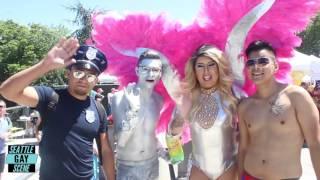 Seattle PrideFest 2016 Highlights