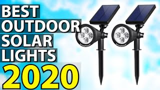 ✅ TOP 6: Best Outdoor Solar Lights 2020
