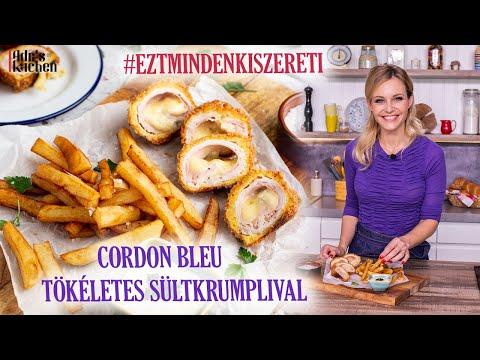 Cordon Bleu Tökéletes Hasábburgonyával