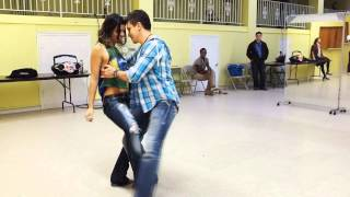 The hottest Zouk class demo dance with pros Diego & Jessica in DC