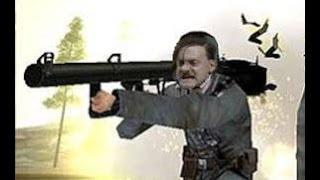 Гитлер играет в Battlefield 1942