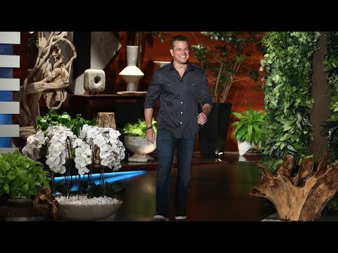Matt Damon Isn't Giving George Clooney Twins Advice