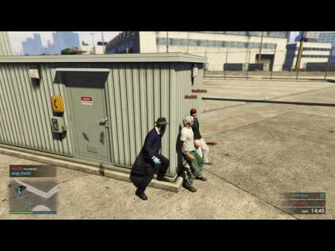 Grand Theft Auto V (Parkour failures, fight to the death)