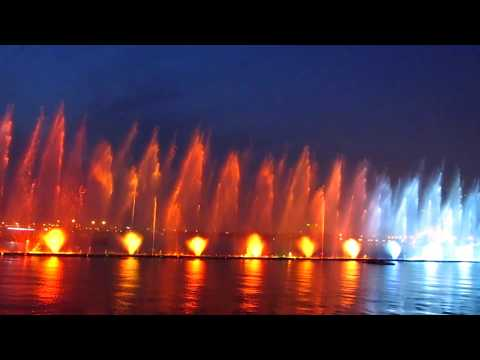 Al Majaz Water Fountain - Sharjah UAE 2018