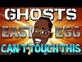 "COD Ghosts: ""MC HAMMER"" Stop Hammer Time Easter Egg (Call of Duty Ghosts Secrets) 