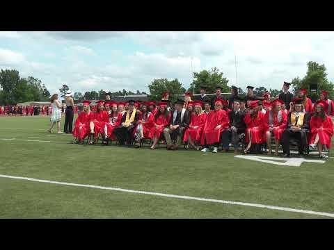 2018 Mena High School Graduation (Mena, Arkansas)