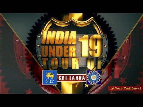 Sri Lanka U19 vs India U19, 1st Youth Test, Day - 1