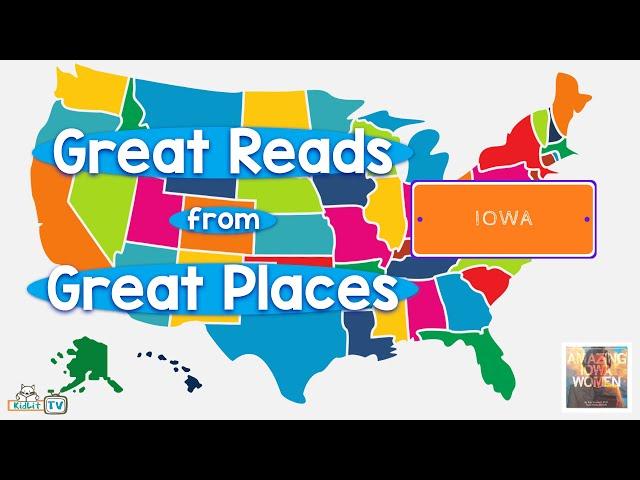Great Reads from Great Places Katy Swalwell's AMAZING IOWA WOMEN Iowa