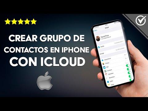 Cómo Crear un Grupo de Contactos en iPhone, iPad, iPod Touch o Mac con iCloud