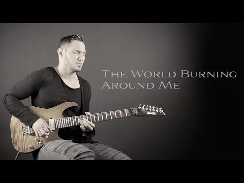 ANGEL VIVALDI // World Burning Around Me  [GUITAR PLAYTHROUGH]
