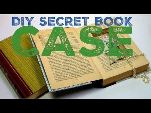 Diy How To Make A Book With A Secret Compartment How To Make A Book Safe