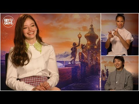 Mackenzie Foy, Lang Lang & Misty Copeland talk The Nutcracker and the Four Realms Interviews Mp3