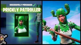 *NEW* PRICKLY PATROLLER Skin in Fortnite!