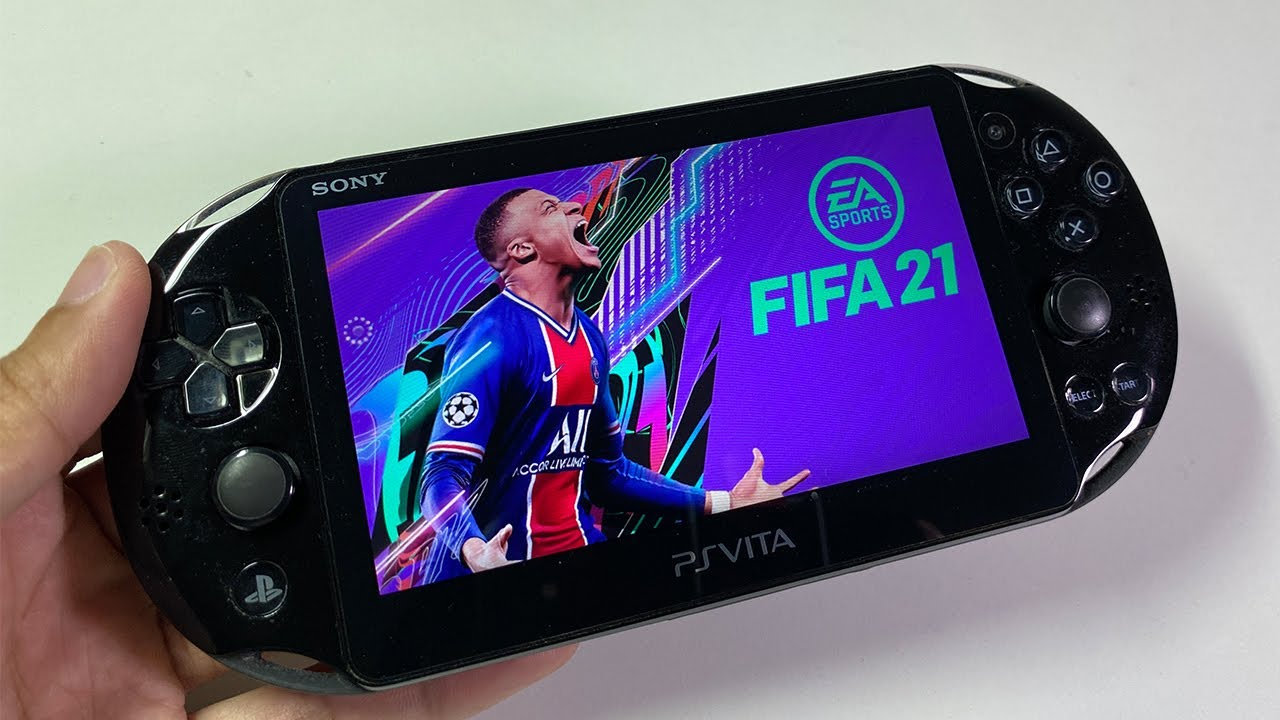 [GameTest] Fifa 2021 Ps vita 2000