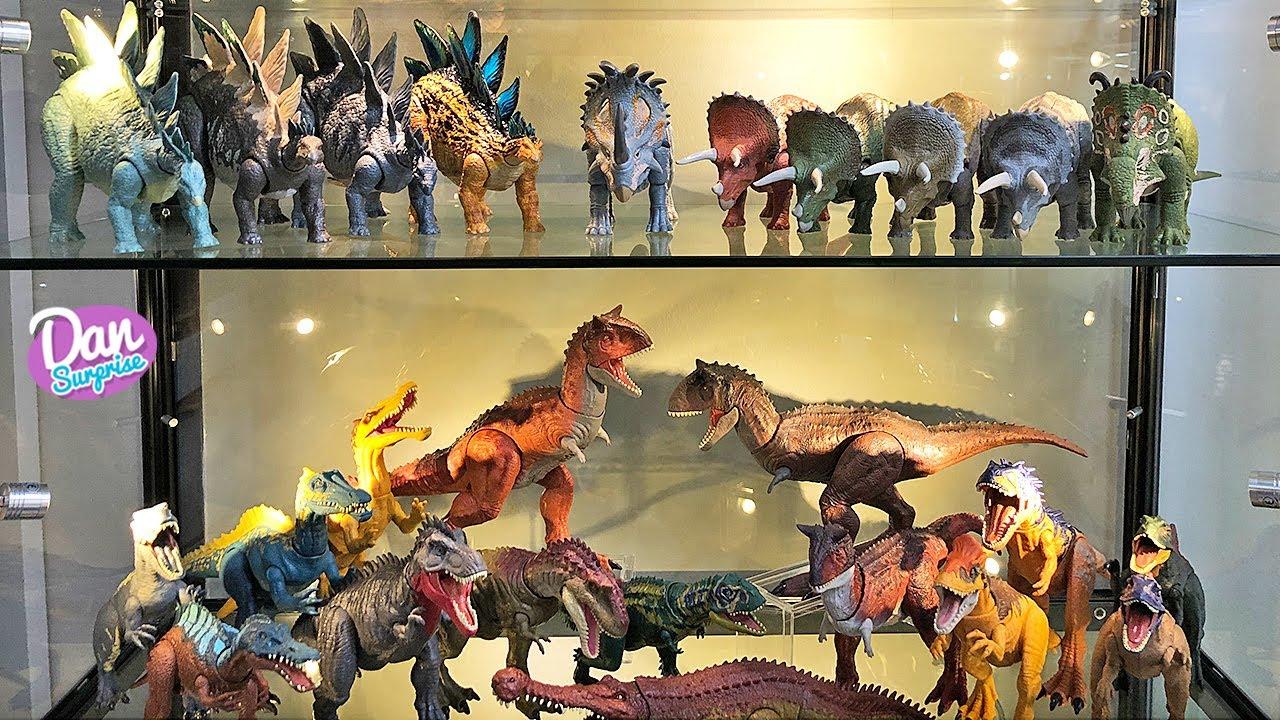 350 JURASSIC WORLD & JURASSIC PARK DINOSAURS - Dinosaur Collection Shelf Tour