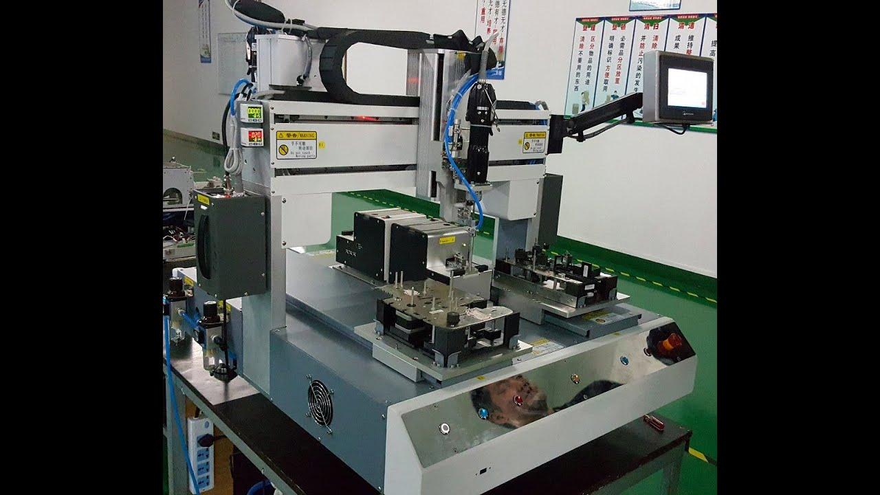 Hensen automation inc double xyz axis desktop screw