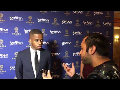 Ryan Sessegnon talks to Kiran Rai EFL awards