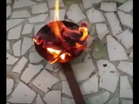 How to burn Benzoin/Sambrani - To remove negative energy #2