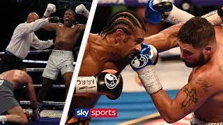 The most EXCITING Heavyweight fights | Dillian Whyte reviews AJ fight, Wilder/Ortiz & Haye/Bellew
