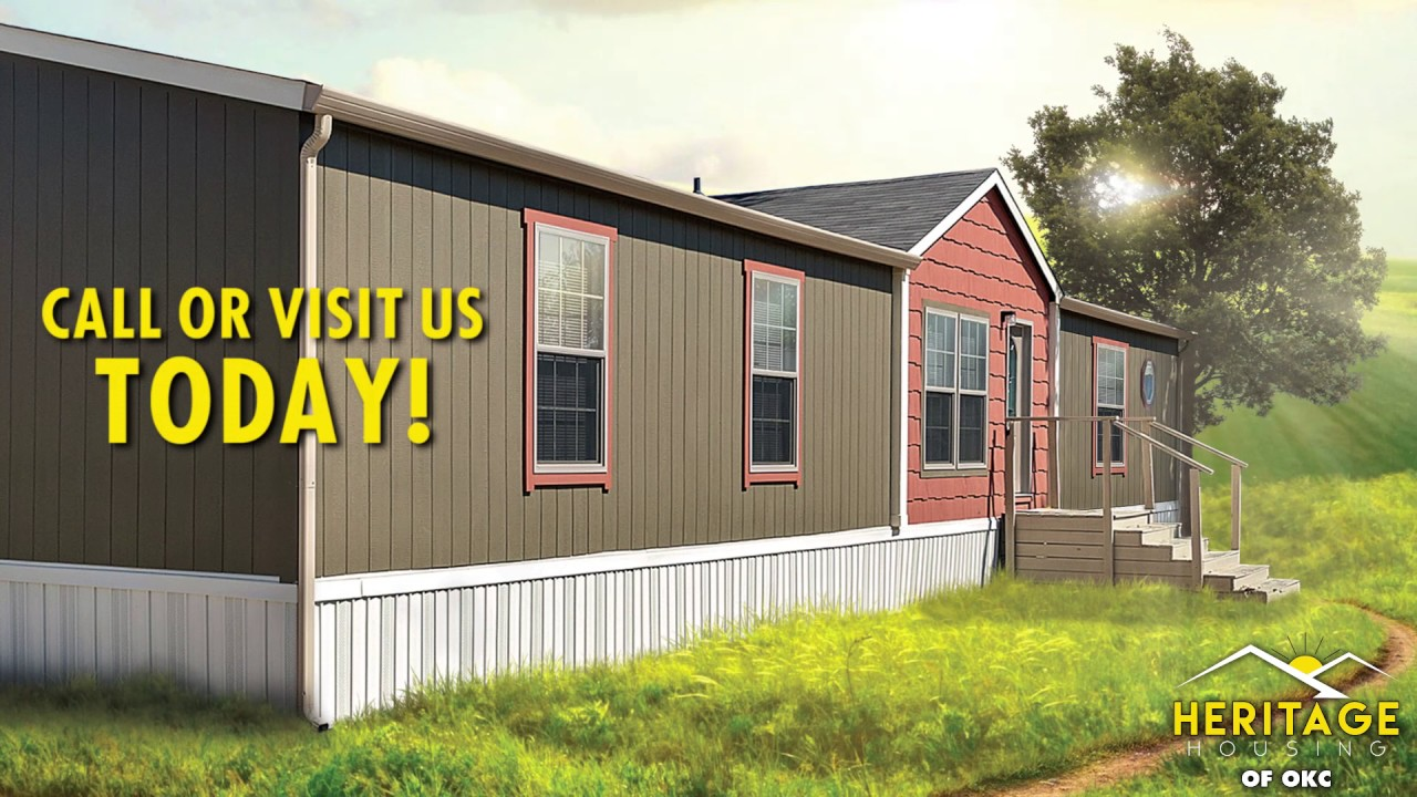 Buy Mobile Home: Heritage Housing in Oklahoma City - YouTube on heritage apartments, manufactured homes, heritage sheds,