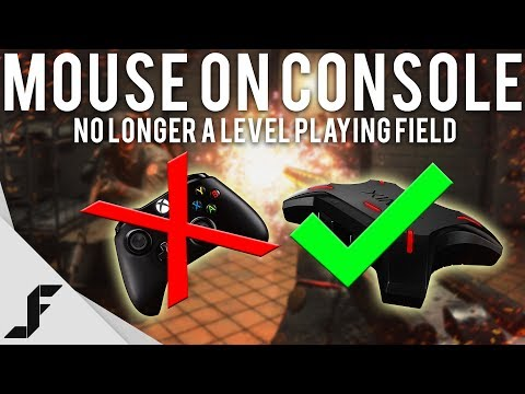 MOUSE ON CONSOLE - No longer a level playing field