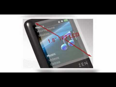 Creative ZEN Style 100 Mp3 Player