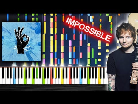 Ed Sheeran - Perfect - IMPOSSIBLE PIANO by PlutaX