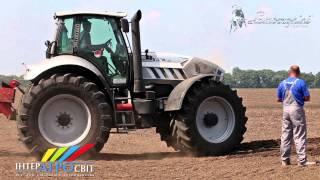 Lamborghini tractors Интер Агросвит и плуг Суков от Свит Агротехники(, 2014-04-16T13:52:09.000Z)