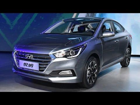 2017 Hyundai Verna Unveiled In China