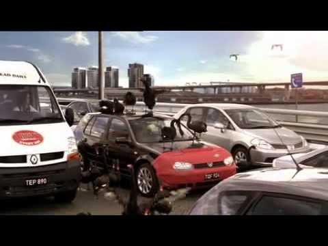 AAMI Swans TV Brand Ad, Car Insurance