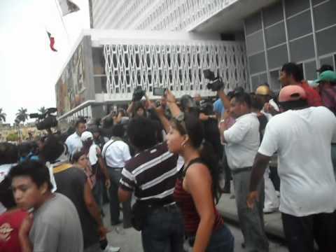 Represion a colonos de Kin Ha Campeche