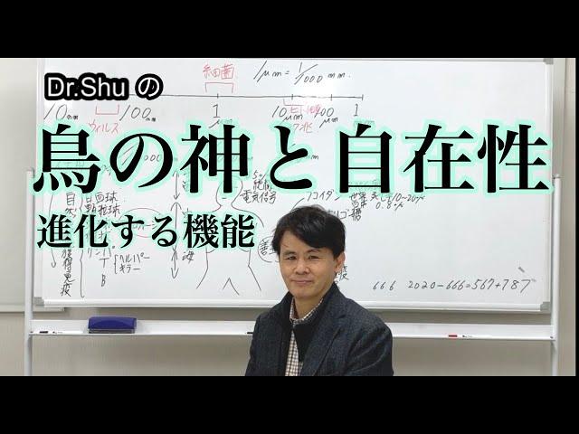 Dr.Shuの【鳥の神と自在性】進化する機能