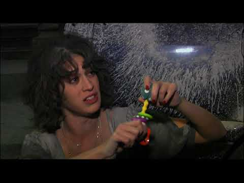 T J  Miller and Lizzy Caplan Easter Egg 1