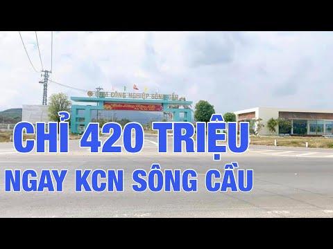 ĐẤT NỀN CHỈ 420 TRIỆU NGAY KHU CÔNG NGHIỆP SÔNG CẦU - KHÁNH VĨNH - KHÁNH HOÀ