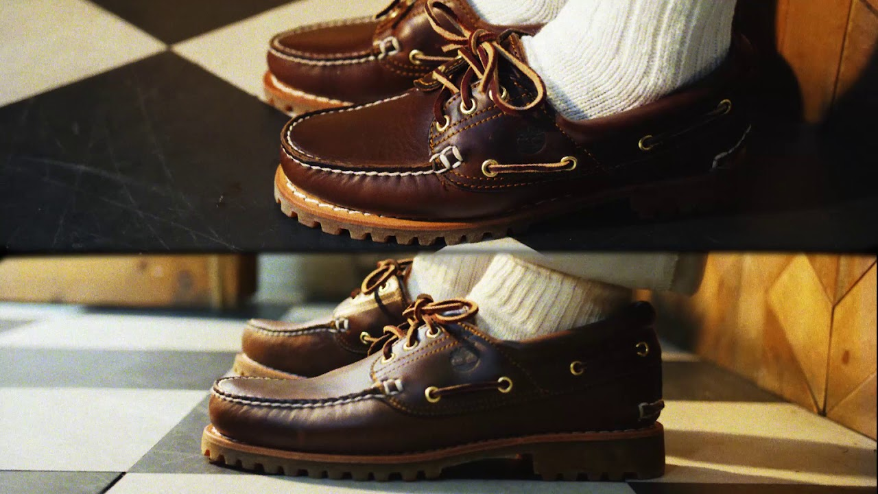 Timberland Icon Boat Shoes - YouTube