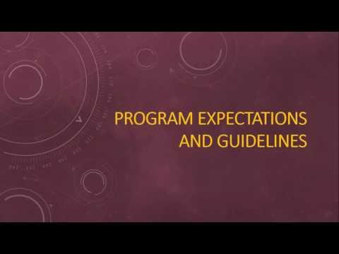 College of Science & Engineering Mentor Webinar, November 2016