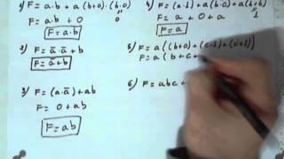2.5.9 - Ejercicio - Simplificación de funciones mediante álgebra de Boole - aprobarfacil.com - V290