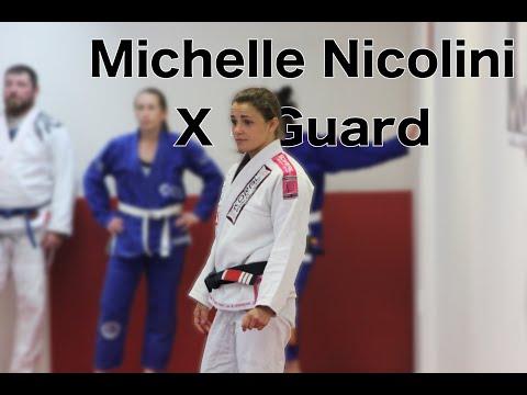 Michelle Nicolini X guard Sweep