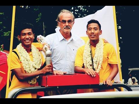MYANMAR U19 FOOTBALL TEAM BRING VICTORY TO HOME